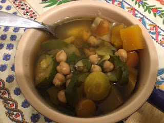 Libyan couscous soup